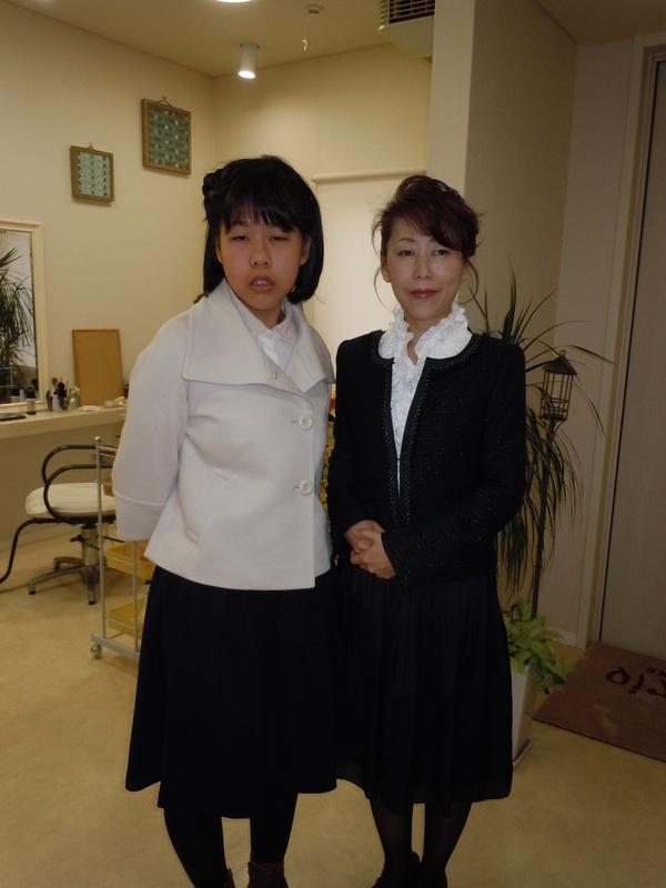 小学校の卒業式\(^o^)/