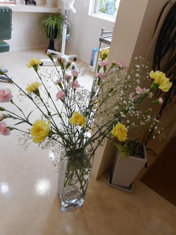 お花…癒し